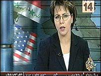 Presenter on al-Jazeera TV station