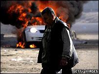 Car bomb blast in Baghdad on Friday, 28 January