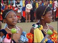 Incwala harvest ceremony