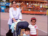 Navjeet Sidhu and her two children, who died in August