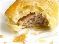 Sausage rolls are one of Greggs' most popular lines