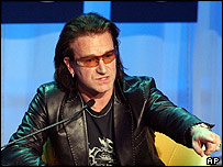 Bono in Davos
