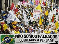 Brazil anti-corruption march