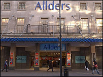 Allders' Oxford Street store