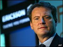 Ericsson chief executive Carl-Henric Svanberg