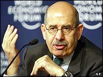 International Atomic Energy Agency head Mohamed ElBaradei