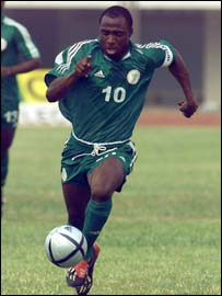 Nigeria under 20 captain Isaac Promise