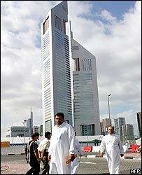 Dubai's landmark Emirates Towers