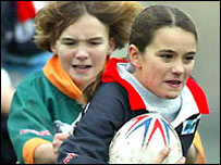 Rugby league for girls