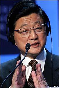 Viceprimer ministro de China, Huang Ju.