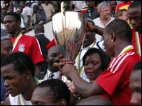 Nigeria with the African Youth cup
