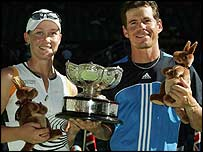 Samantha Stosur and Scott Draper