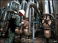 Iranian petrol-chemical plant