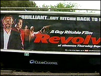 The Revolver poster in Kensal Green