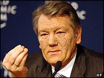Viktor Yushchenko in Davos