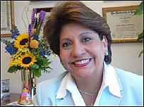 Janet Murgu�a, presidenta del Consejo Nacional La Raza, EE.UU.