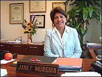 Janet Murguía, presidenta del Consejo Nacional La Raza, EE.UU.