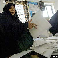 Votes are counted after Sunday's election