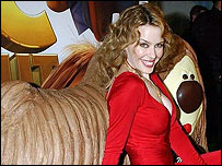 Kylie Minogue at UK premiere of Magic Roundabout film