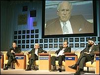 Sesión de cierre del Foro Económico Mundial