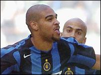 Inter Milan striker Adriano