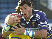 Leinster try-scorer Shane Horgan