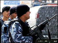 Kuwaiti paramilitary police. File photo