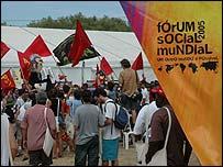 World Social Forum crowds