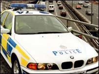 Strathclyde Police car