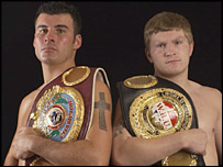 Joe Calzaghe says he is a better world champion than Ricky Hatton