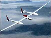 إحدى الطائرات التي استخدمها فوسيت في رحلاته