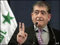 Falah al-Naqib, ministro del Interior iraquí
