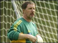 South Africa coach Stuart Baxter