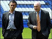 Jose Mourinho, Peter Kenyon