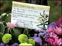 Flowers at RAF Lyneham