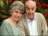 Ronald Wedge and his wife Mary