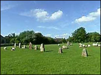 Avebury - courtesy BBC Wiltshire.