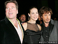 Val Kilmer, Michelle Monaghan and Robert Downey Jr
