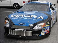 Viagra-sponsored car