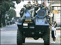 Police unit in New Orleans