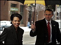 Condoleezza Rice in Washington