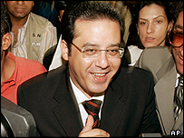 Opposition candidate Ayman Nour
