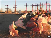 Tributo a las víctimas de Ciudad Juárez