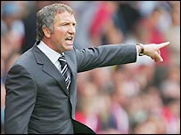Newcastle manager Graeme Souness