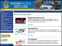 Tayside Police website