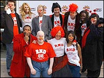 Red Nose Day launch