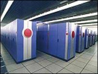 The Earth Simulator supercomputer (BBC)