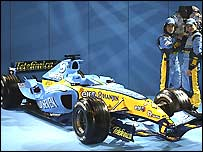 Picture from the Renault launch in Monaco