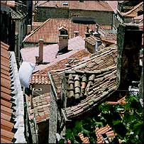 Roofs old and new in Dubrovnik (pic: Robin Forestier-Walker)