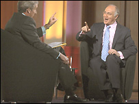 Jeremy Paxman interviews Michael Howard